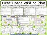 First Grade Writing Plan - Unit 3 Journeys/Core Connections