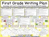 First Grade Writing Plan - Unit 5 Journeys/Core Connections