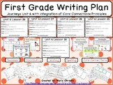 First Grade Writing Plan - Unit 6 Journeys/Core Connections