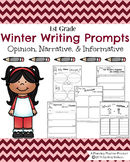 First Grade Writing Prompts - Winter