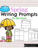 First Grade Writing Prompts - Spring