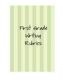 First Grade Writing Rubrics-6 Traits