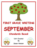 First Grade Writing: September