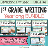 FIRST GRADE WRITING CURRICULUM DIGITAL For Classroom and D