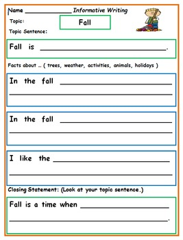 First Grade Writing to the Standards: October