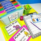 1/2 PRICE!! Second Grade Year-Long Growing Bundle! Solve t