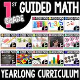 First Grade Yearlong Guided Math BUNDLE