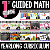 First Grade Yearlong Guided Math BUNDLE