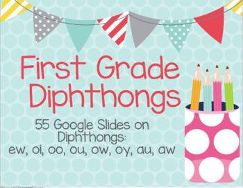 First Grade diphthong