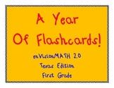 First Grade enVision Math Teacher Flashcards