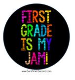 First Grade is my Jam! Artwork