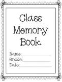 Class memory book (9 pgs)