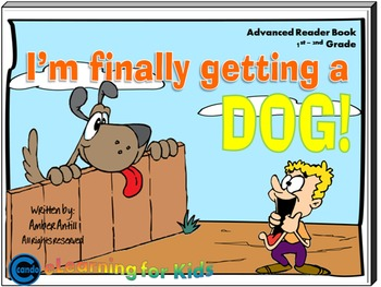 First Grade rhyming book I'm Finally Getting a Dog!