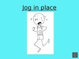 First Grade sight word Kinethetics PowerPoint Week 1