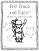 First Grade was Super! {an end-of-the-year memory book}