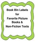 First GradeBook Bin Labels