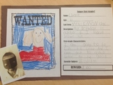 First Grader Wanted Poster
