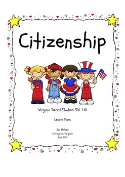 First Graders Are Good Citizens - Lesson Plans