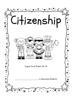 First Graders Are Good Citizens (Interactive Notebook)