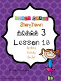 First Grade StoryTown Theme 3 Lesson 16 Spelling Activity Packet