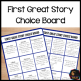 First Great Story Choice Board