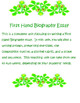 First Hand Biography Essay Writing Project