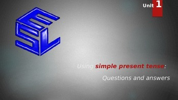 First Hand English Unit 1 PPT (simple present tense)