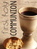 First Holy Communion {A Flip Book}