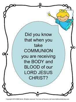 First Holy Communion Art Lesson