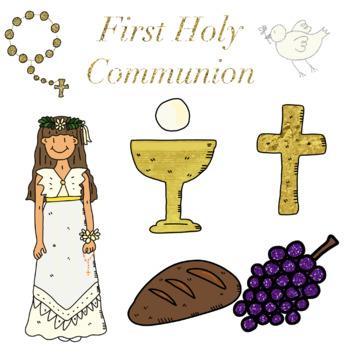 First Holy Communion Cute Clip Art