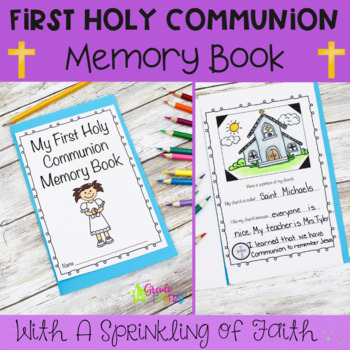 First Holy Communion Memory Book