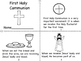 First Holy Communion Mini Book and Coloring Pages