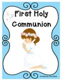 First Holy Communion Eucharist Preparation Activities