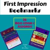 First Impression Bookmark Awards