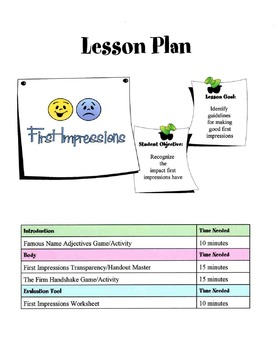First Impressions & Their Impact Lesson
