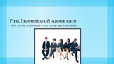 First Impressions and Appearance Powerpoint