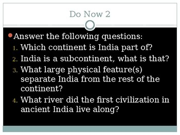 First Indian Civilizations