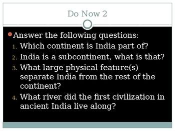 First Indian Civilizations