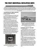First Industrial Revolution Newsletter