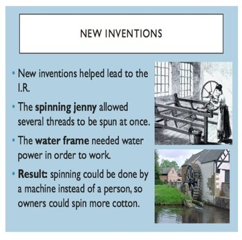 First Industrial Revolution PowerPoint