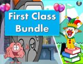 First/Introduction ESL/ESOL Class PowerPoint Bundle.