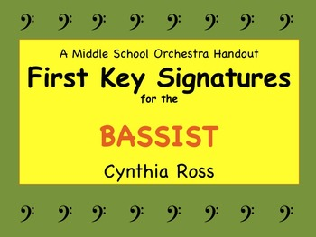 First Key Signatures for the BASSIST