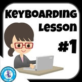 First Keyboarding Lesson - Home Row & Proper Technique