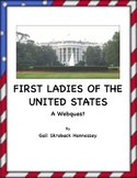First Ladies of the United States-Webquest
