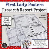 First Lady Research Project - Research Report Posters of all First Ladies