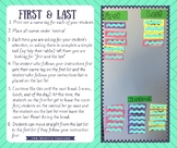 First & Last Classroom Management Strategy