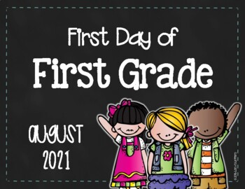 First/Last Day of First Grade - FREE