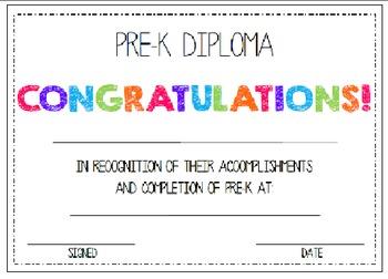 First & Last Day of School Bundle with Pre-K Diploma - MEGA BUNDLE!