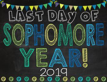 First & Last Day of School Posters: Blues, Greens & Teals (EDITABLE)