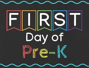 First & Last Day of School Signs - Preschool through 5th Grade!
